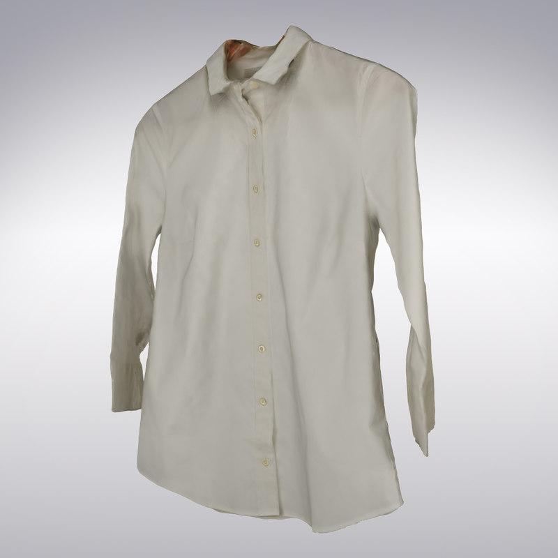 ma women s white blouse