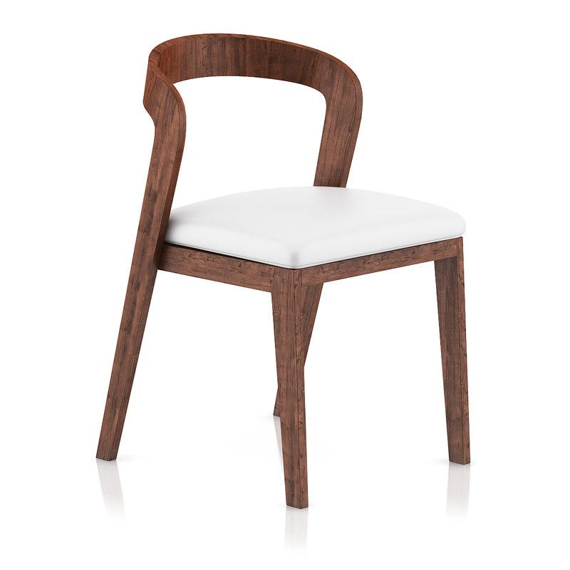 dark wood chair pillow