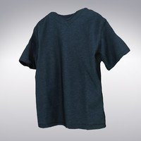 deep blue t-shirt scanning 3d max