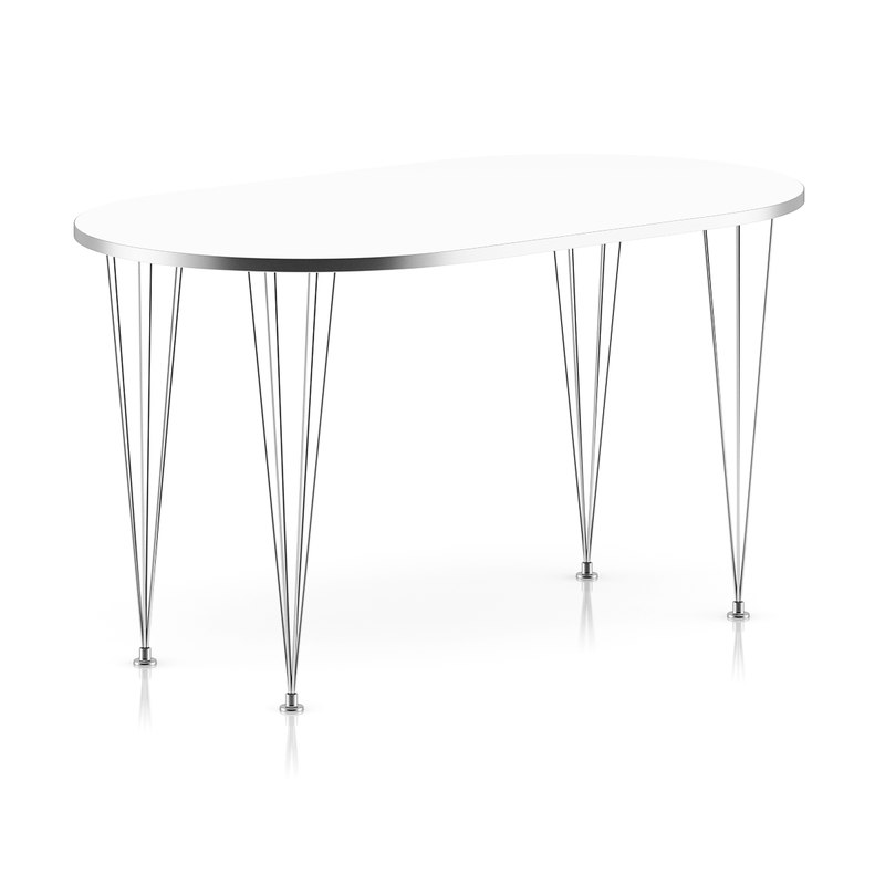 3d metal table model