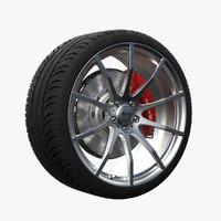3d advanti vulkan wheel model