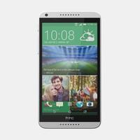 htc desire 816 mobile phone 3d model