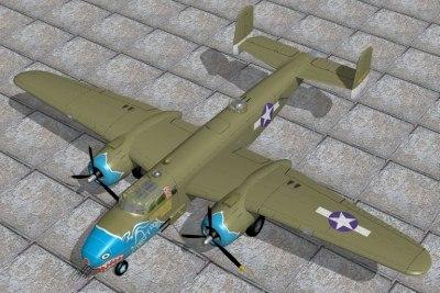 max north american bomber b25c
