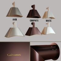 Kitchen hood Galvamet Charme 90/120