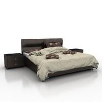 bed materials 3d max