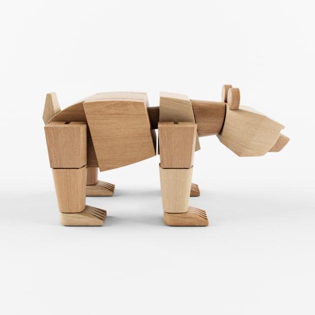 wooden david weeks studio 3d max