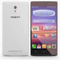Oppo Find 7 And 7a White