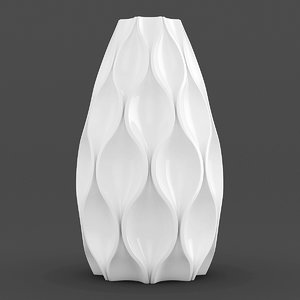 modern vase 3d max