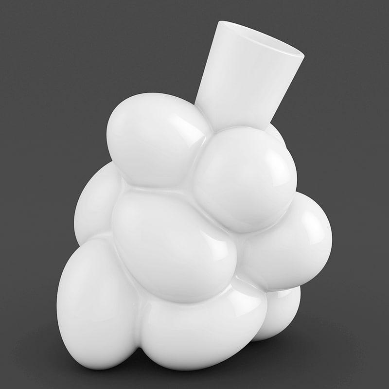 egg vase 3d model