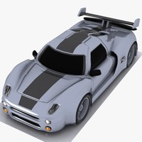 Cartoon Sports Car 3