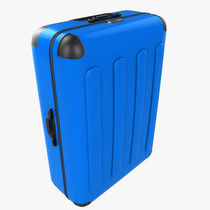 3d max suitcase baggage