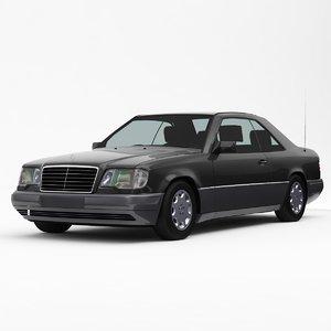 mercedes-benz e-class w124 coupe 3d 3ds