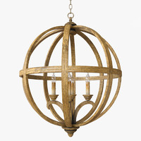 Currey & Company - Axel Orb Chandelier Lighting