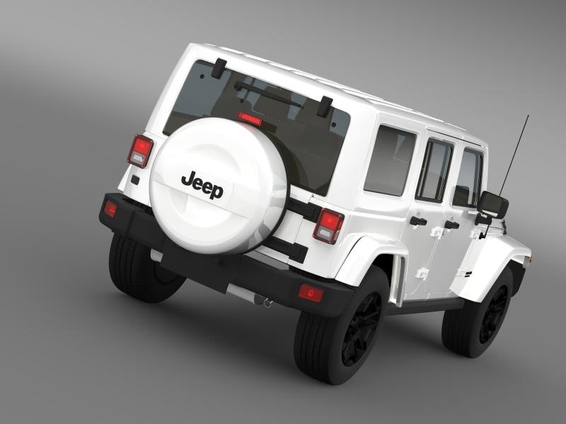 jeep wrangler unlimited rubicon model