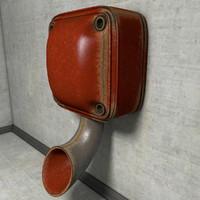 vintage alarm siren 3d obj