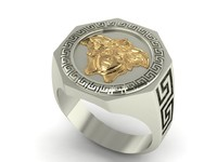 3ds max versace ring