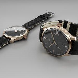 russian watch 3d model
