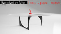 modern furniture: tables