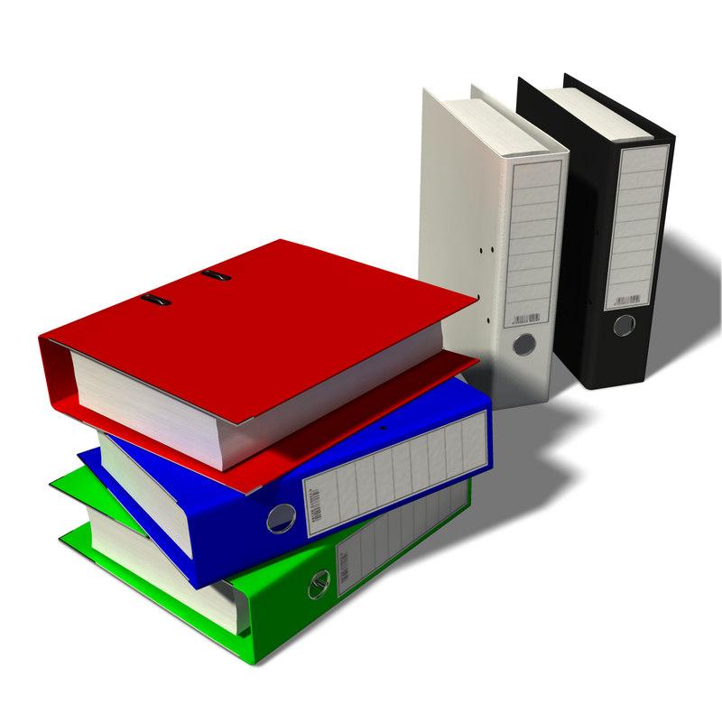 model office folders