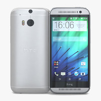HTC One (M8) Glacial Silver