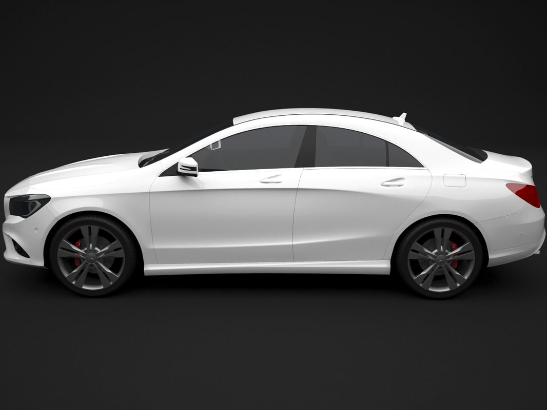 3ds max mercedes cla 2013