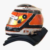 Nico Hülkenberg 2014 style Racing helmet