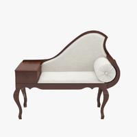 sofa shark 3d model