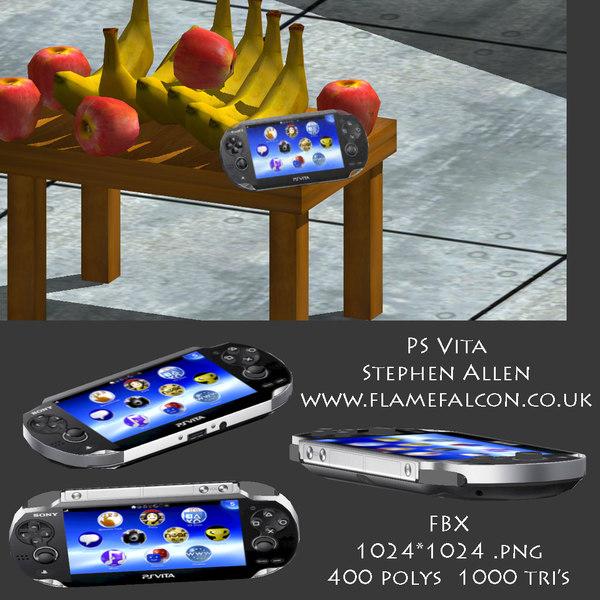 free max model sony playstation ps vita