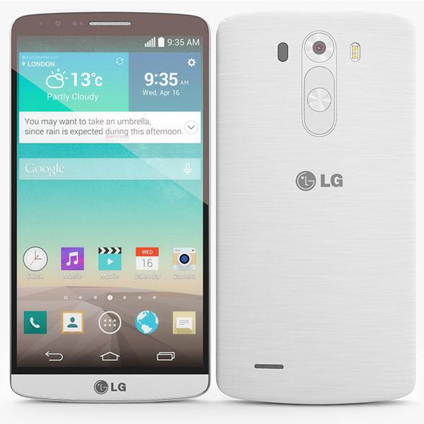 lg g3 3d model