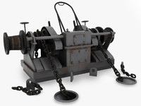 windlass winch hoist
