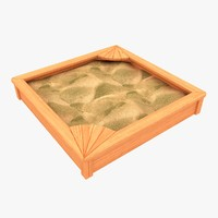 max wooden sandbox