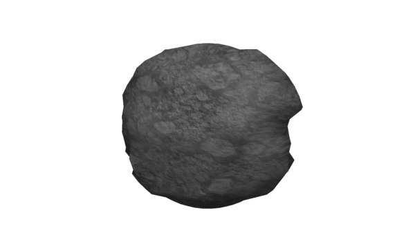 asteroid space fbx