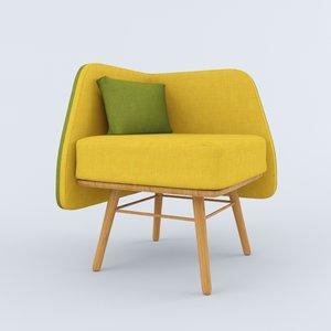 3d bi silla chair