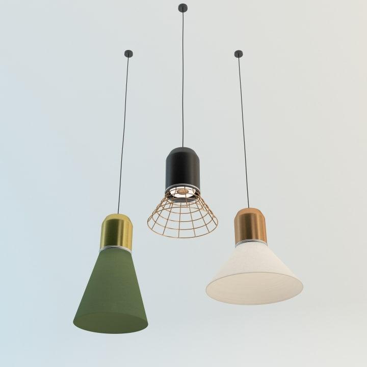 bell light 3d max