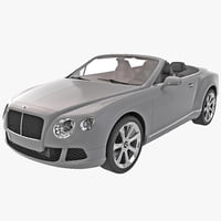 3d model bentley continental 2014 gtc