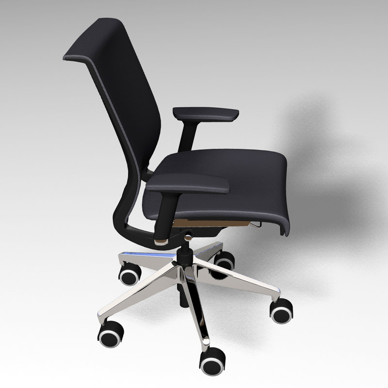 office chair 3d lwo
