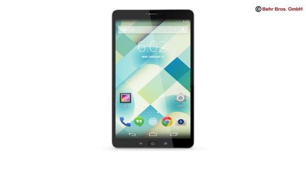 3d model generic tablet 8 4