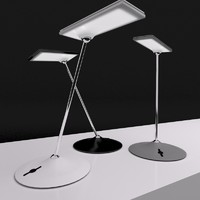 led desk lamp humanscale 3d model