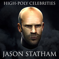 3d model of jason statham fur