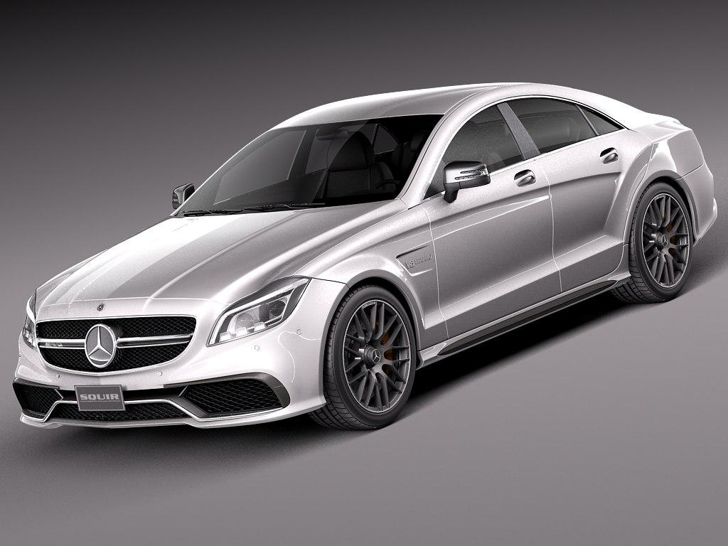 2015 mercedes benz cls 3d lwo for Mercedes benz 2015 models