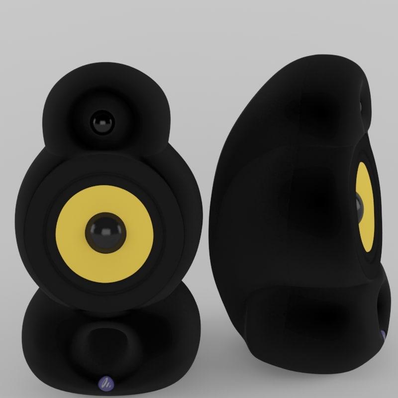 podspeakers bigpod speaker 3d model