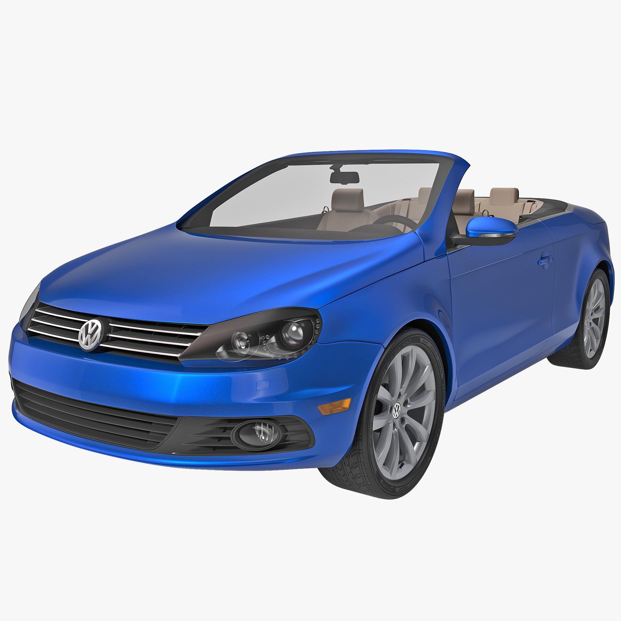 Eos Volkswagen Used: 3d Volkswagen Eos 2014 Convertible