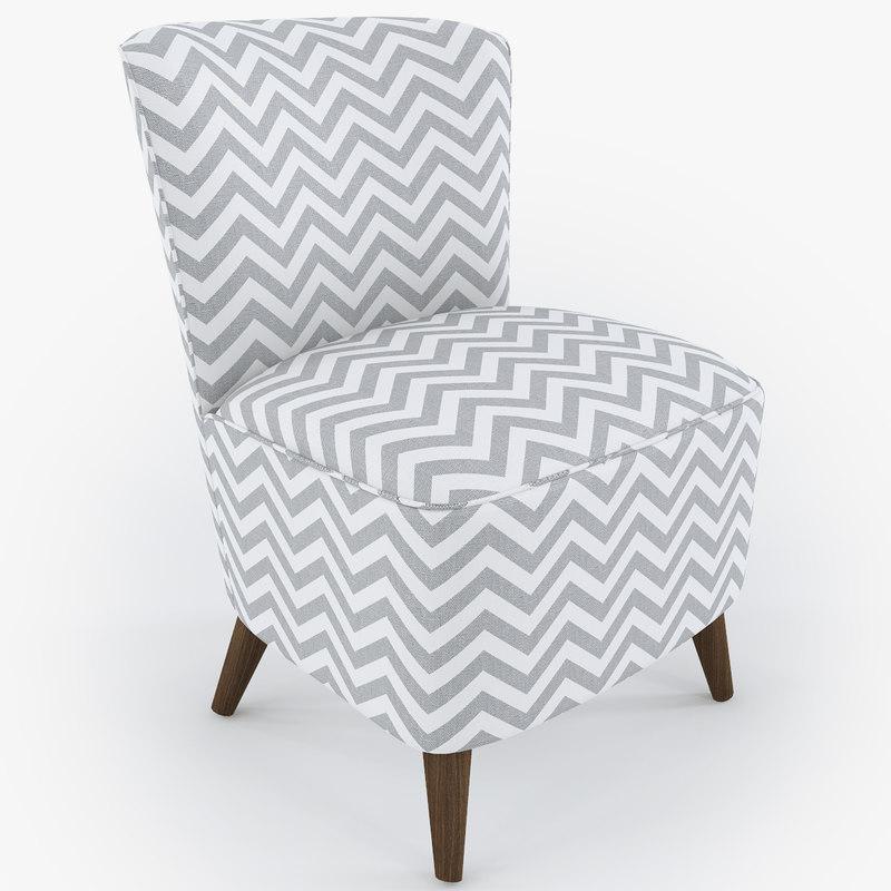 ziggy chair 3d model