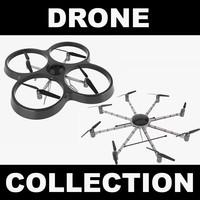 drones realistic 3d max