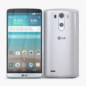 3d lg g3 silk white model