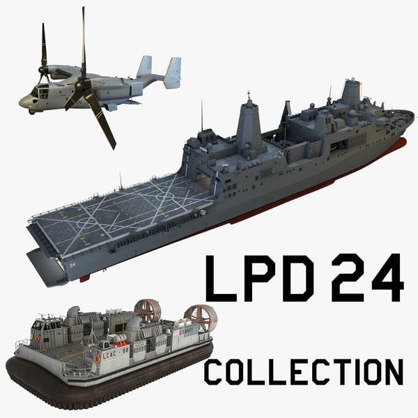 3dsmax uss arlington lpd24