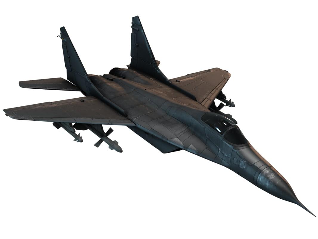 jet combat 3d model