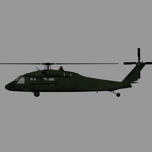 3ds black hawk uh-60