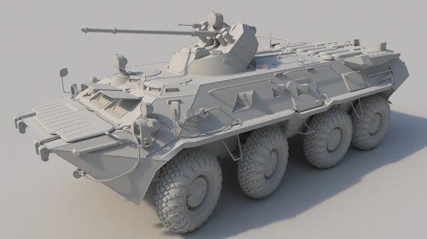 3d btr 80a model