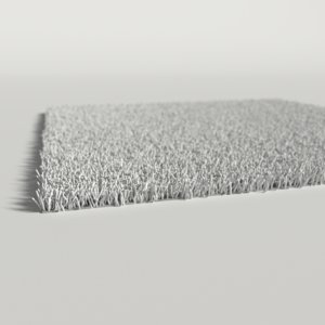3d white carpet